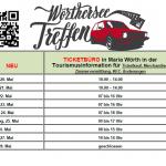TICKETBÜRO NEU  in der Tourismusinformation in Maria Wörth, Seepromenade 5