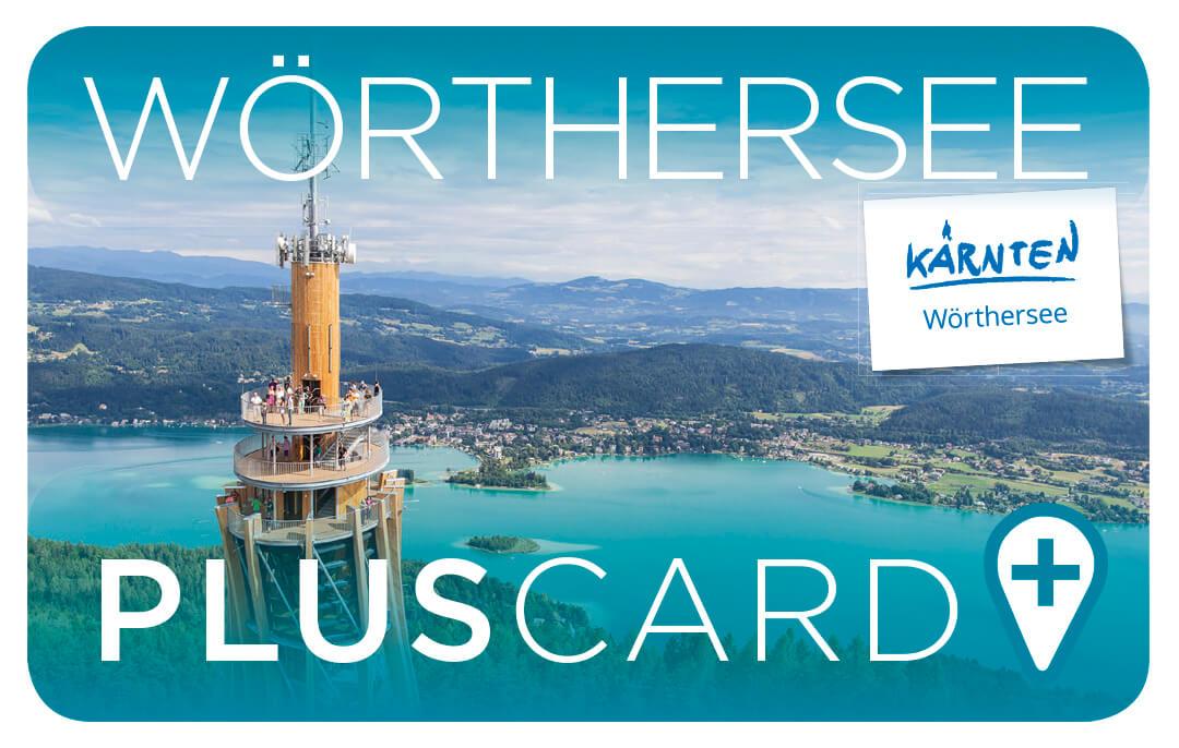 Wörthersee Plus Card – DIE Gästekarte für die Regionen Wörthersee, Klagenfurt und Mittelkärnten! Mit vielen Vergünstigungen
