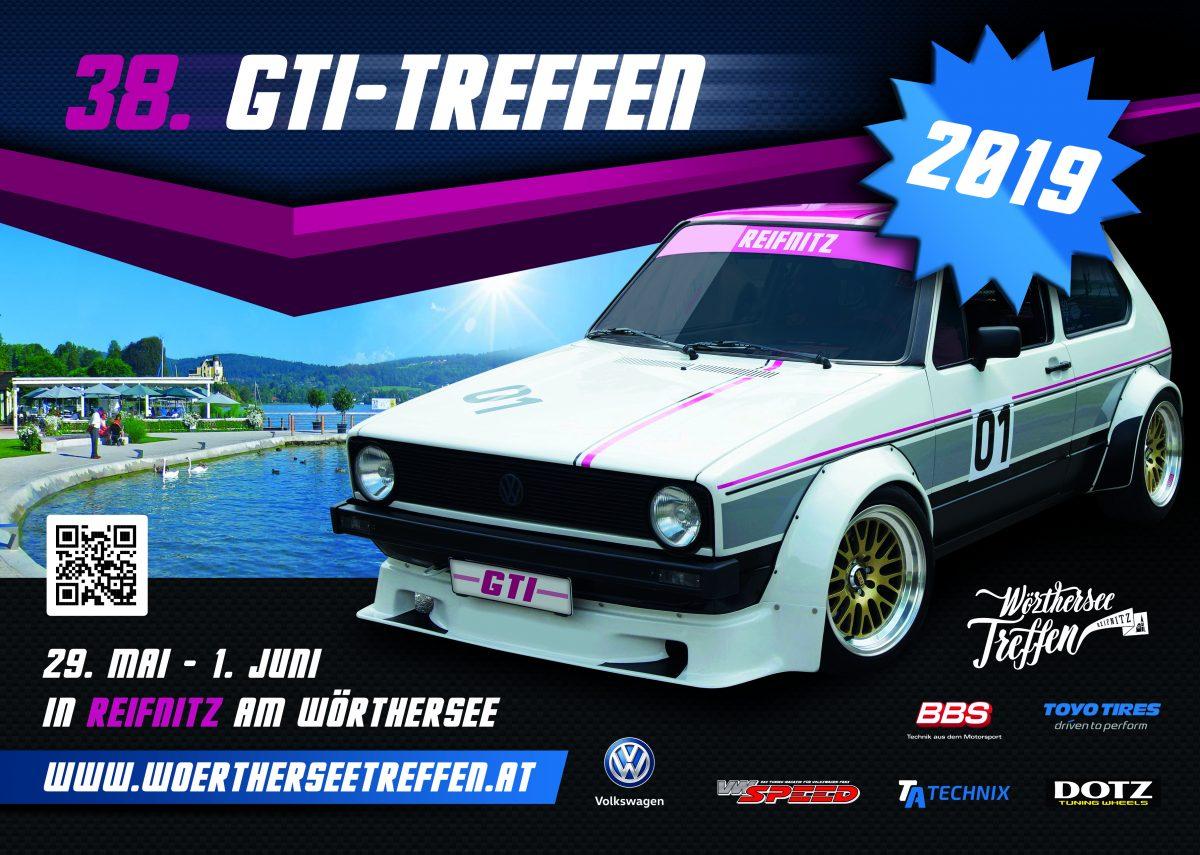 38. GTI-Treffen vom 29. Mai – 1. Juni 2019 – der neue Flyer  online